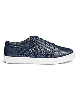 b7c1722c9c3b Heavenly Soles Glitter Shoes EEE Fit