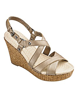 Naturalizer Wedge Sandals Standard D Fit