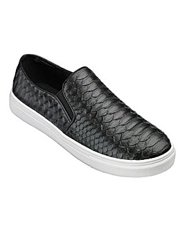 Cushion Walk Slip On Shoes E Fit