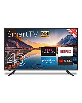 "Cello 43"" Smart 4K Ultra HD LED TV"