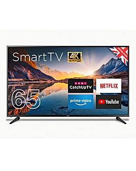 "Cello 65"" Smart 4K LED TV with Freeview"