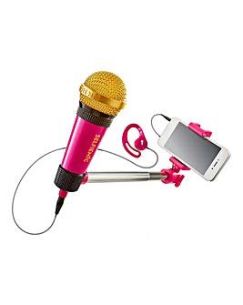 Sing like a pro Selfie Microphone