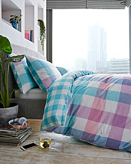 Monty Pink Duvet Cover Set
