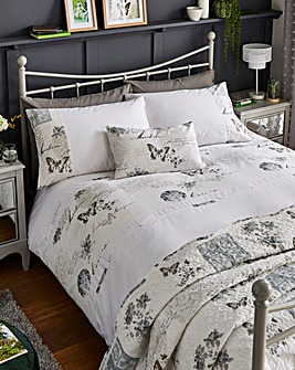 Joy Butterfly Duvet Cover Set