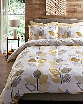 Oakley Ochre Duvet Cover Set