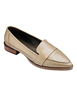 Lorraine Kelly Leather Loafers Standard D Fit