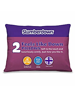 Slumberdown Feels Like Down Pillows