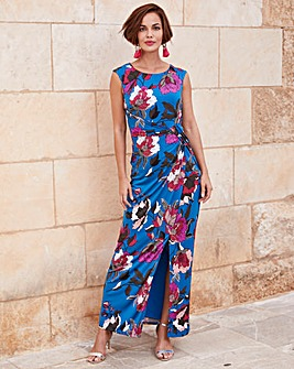 Joanna Hope Floral Stretch Maxi Dress