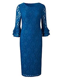 Joanna Hope Double Cuff Lace Dress