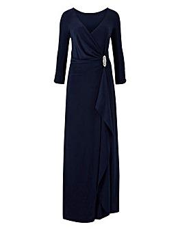 Joanna Hope Diamante Trim Maxi Dress