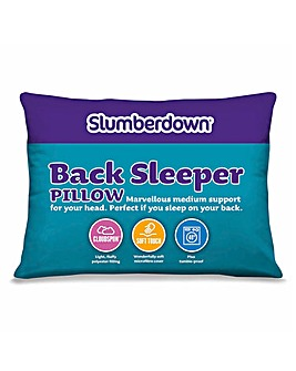 Slumberdown Back Sleep Pillow