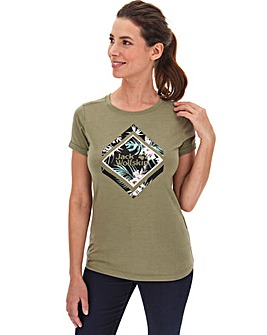 Jack Wolfskin Tropical Square T-Shirt