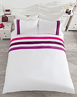 Belmont Stripe Duvet Cover Set
