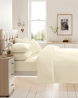 Cotton Jersey Extra Deep Fitted Sheet
