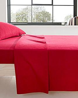 Supersoft Flannelette Cotton Flat Sheet