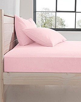 Supersoft Brushed Cotton Fitted Sheet