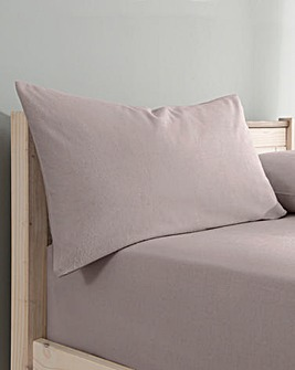 Supersoft Brushed Cotton Housewife Pillow Cases