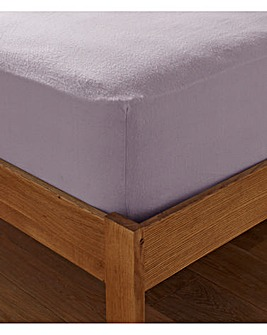 Extra Deep Brushed Cotton Fitted Sheet
