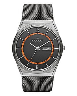 Skagen Gents Melbye Mesh Bracelet Watch