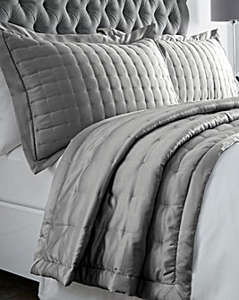 Satin Stitched Pillowshams