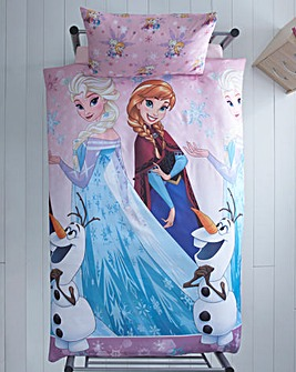 Frozen Magic Rotary Print Duvet Cover