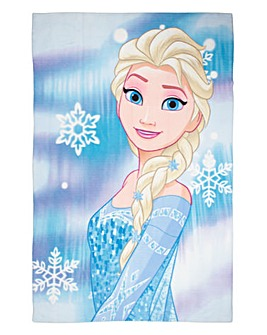 Frozen Light Panel Print Fleece