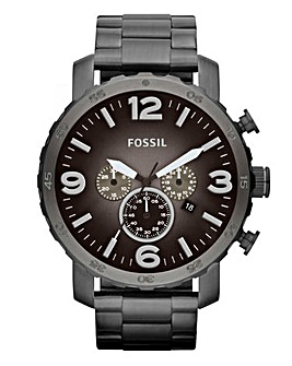 Fossil Gents Chronograph Bracelet Watch