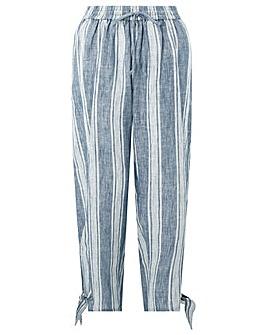 Monsoon Katia Stripe Linen Trouser