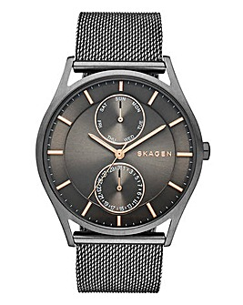 Skagen Gents Holst Mesh Bracelet Watch