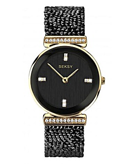 Seksy Rocks Ladies Round Face Watch