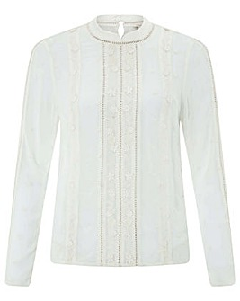 Monsoon Elle Embroidered Blouse