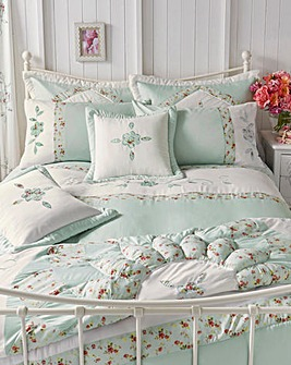 Faye Embellished Duvet Cover Set