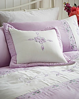 Faye Embellished Pair Cushion Covers
