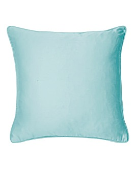 Plain-Dye Sateen Filled Cushion