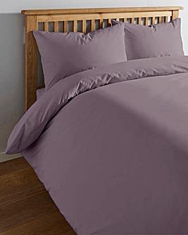 200 TC Plain Dye Percale Duvet