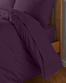 200 Thread Count Plain Dyed Percale Flat Sheet