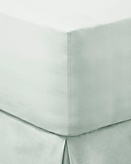 200 TC Plain-Dye Extra Deep Fitted Sheet