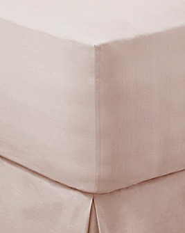 200 TC Plain-Dye Extra Deep Fitted Sheet