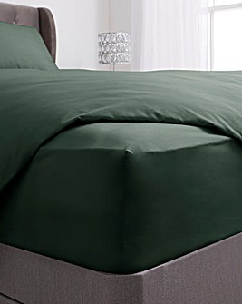 200 TC Plain Dye Extra Deep Fitted Sheet