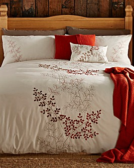 Orla Embroidered Duvet Cover Set