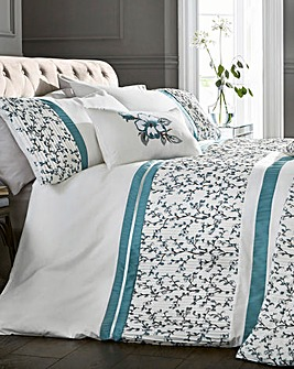 Pippa Pleated Duvet Cover Set