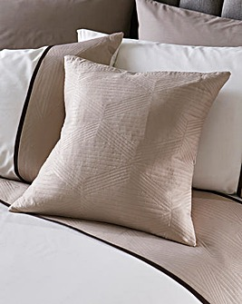Braxton Geometric Filled Square Cushion