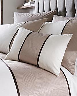 Braxton Geometric Filled Boudoir Cushion