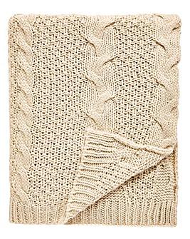 Chunky Knit Throwover