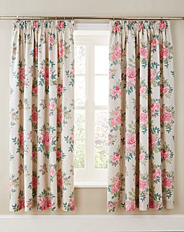 Martha Lined Pencil Curtains