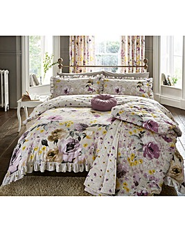 Heidi Cotton Reversible Print Duvet Set