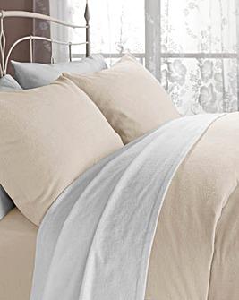 Flannelette Pillowcases Pair