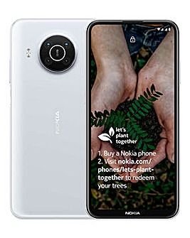 Nokia X10 5G D.Sim 6/64GB - White