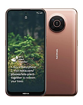 Nokia X20 5G D.Sim 6/128GB - Sand