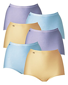 Sloggi 6Pk Basic Maxi Briefs